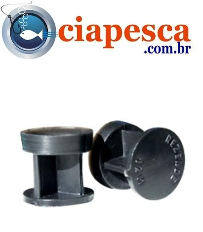 BUCHA PLASTICA P/ RECARGA DE CARTUCHO CAL. 12  50UN