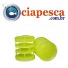 BUCHA PLASTICA P/ RECARGA DE CARTUCHO CAL. 12 BALOTE 50UN